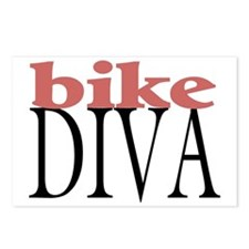 Bike Diva Postcards (Package of 8)