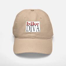 Bike Diva Baseball Baseball Cap