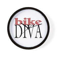 Bike Diva Wall Clock