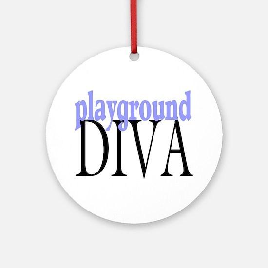 Playground Diva Ornament (Round)