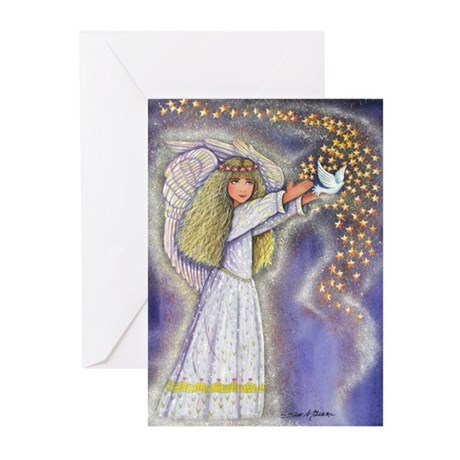 Wishing Angel Greeting Cards (Pk of 10)