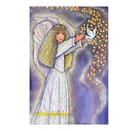 Wishing Angel Postcards (Package of 8)