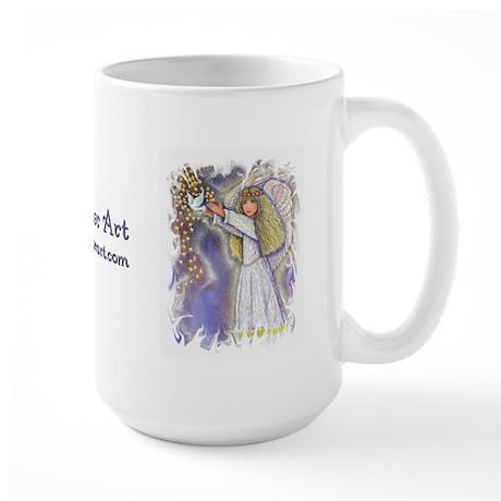 Wishing Angel Large Mug