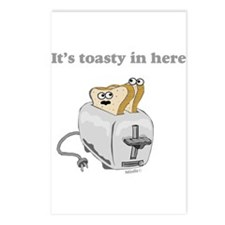 It's toasty Postcards (Package of 8)