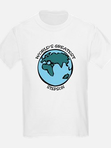 Greatest Stepson Kids T-Shirt