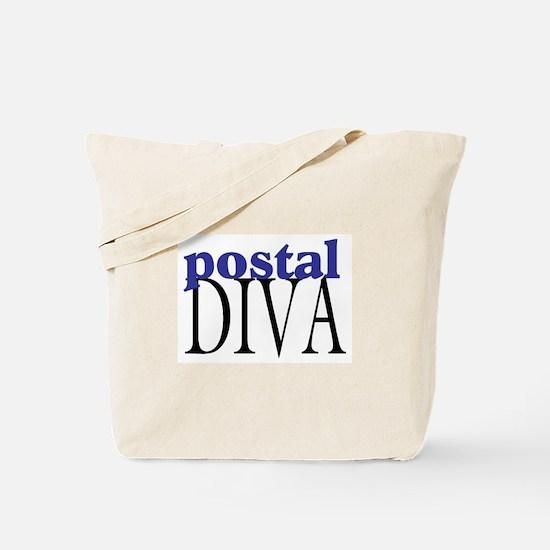 Postal Diva Tote Bag