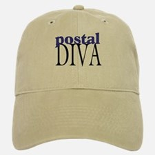Postal Diva Baseball Baseball Cap