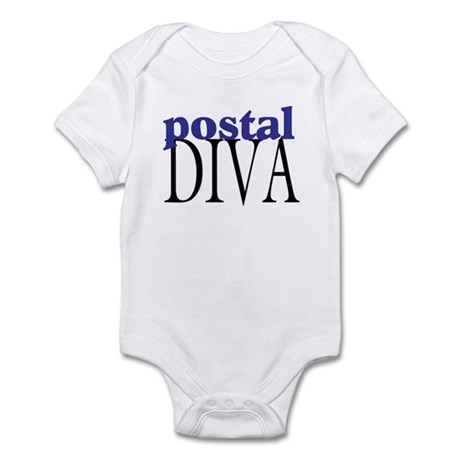 Postal Diva Infant Bodysuit