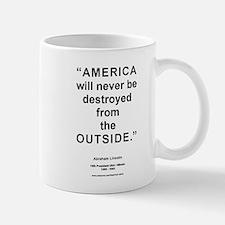 Outside America - Lincoln Mug