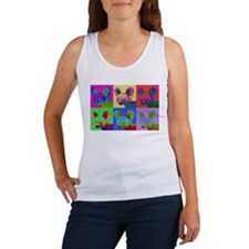 Op Art Crestie Women's Tank Top