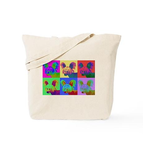 Op Art Crestie Tote Bag