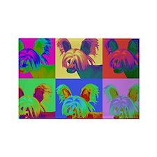 Op Art Crestie Rectangle Magnet (100 pack)