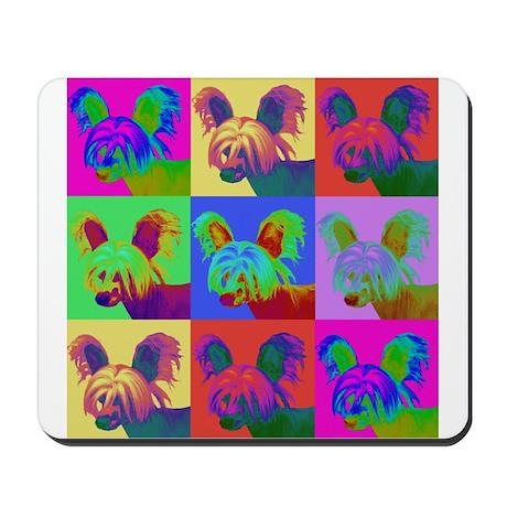 Op Art Crestie Mousepad