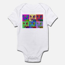 Op Art Crestie Infant Bodysuit