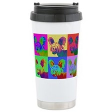 Op Art Crestie Travel Coffee Mug