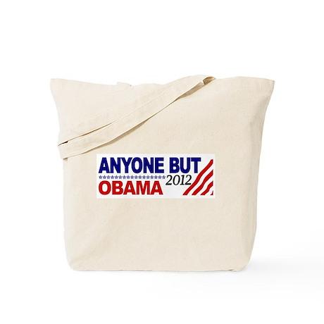 Anyone but Obama 2012 Tote Bag
