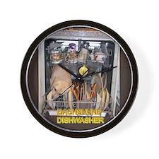 Dishwasher Wall Clock