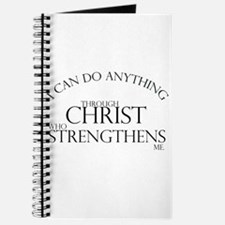 I can do anything Journal