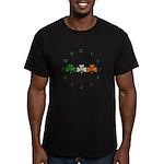 Irish Clocks Men's Fitted T-Shirt (dark)