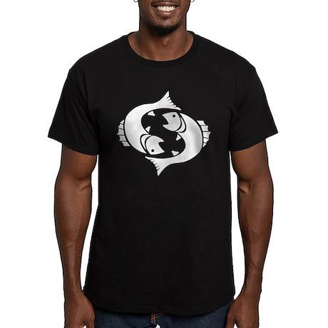 Pisces Men's Fitted T-Shirt (dark)