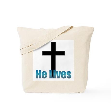 He lives Tote Bag