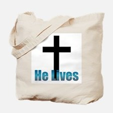 He lives Tote Bag