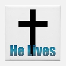 He lives Tile Coaster