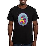 EASTER EGG Men's Fitted T-Shirt (dark)