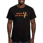 Cerveza Por Favor Men's Fitted T-Shirt (dark)