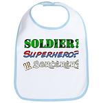 Soldier? Superhero? Sorcerer? Bib