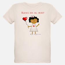 Nurses are all heart T-Shirt