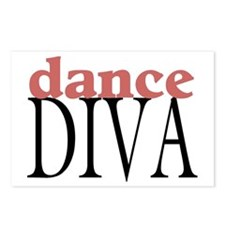Dance Diva Postcards (Package of 8)