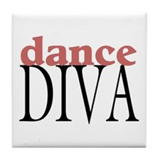 Dance Diva Tile Coaster