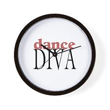 Dance Diva Wall Clock