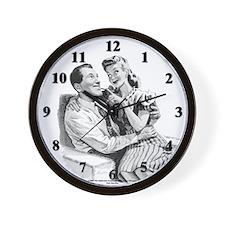 "Connie n' ""Bob"" Wall Clock"