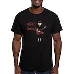 Girls Rock Men's Fitted T-Shirt (dark)
