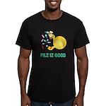 Pilz Is Good Men's Fitted T-Shirt (dark)
