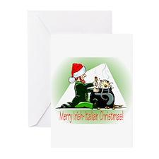 Christmas Spaghetti Greeting Cards (Pk of 10)