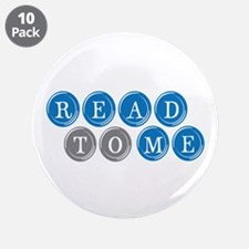 """Read To Me 3.5"""" Button (10 pack)"""