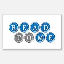 Read To Me Rectangle Sticker 50 pk)