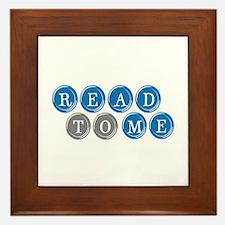 Read To Me Framed Tile