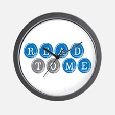 Read To Me Wall Clock
