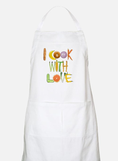I Cook With Love apron