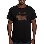 I Dig Old Bottles Men's Fitted T-Shirt (dark)