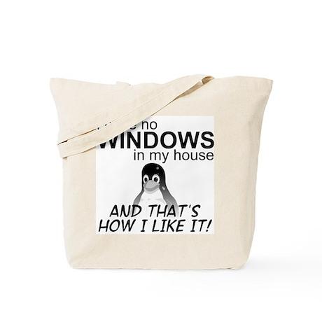 I Have No Windows Tote Bag
