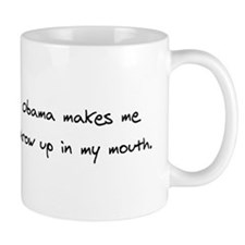 Obama Throw Up Mug