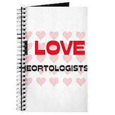 I LOVE HEORTOLOGISTS Journal