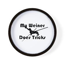 Weiner tricks Wall Clock