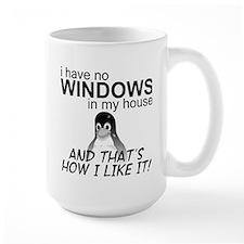 I Have No Windows Mug