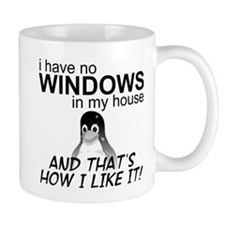 I Have No Windows Mug